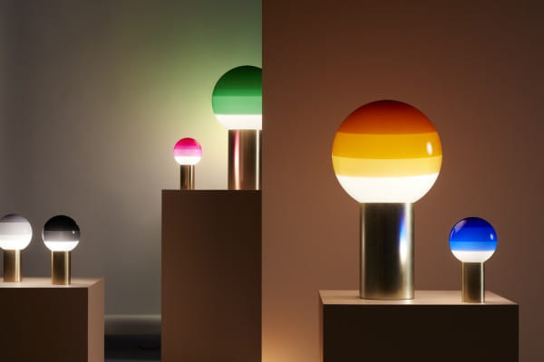 marset Tischleuchte LED Dipping Light Ambiente Vergleich Stillleben
