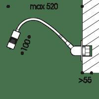 LED Wandleuchte A Little Bit (Einbau)