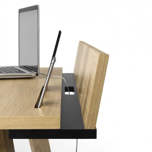 Temahome Schreibtisch Loft - Detailansicht