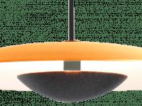 Pendelleuchte LED Ginger Messing gebürstet-Weiß nah