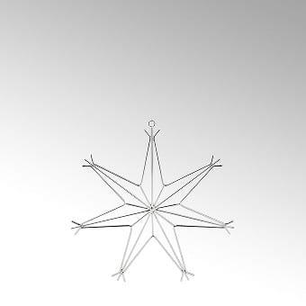 Lambert Elara Dekostern silber klein D 14 cm