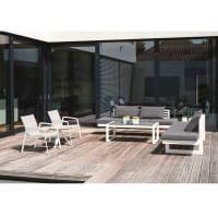 Stern Loungesessel New Top - Weiß / Silber, Ambiente