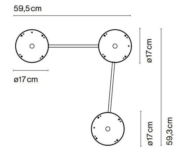marset Zubehör C3 Djembe C42 Deckenleuchten