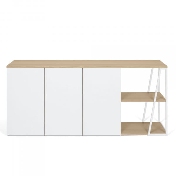 Temahome Sideboard Albi - Eiche / Weiß