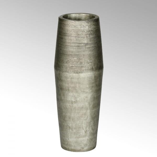 Lambert Gefäß Kamara Keramik silber H79cm D23cm