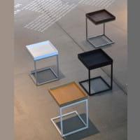 Jan Kurtz Beistelltisch Pizzo 40 x 40 cm abnehmbares Tablett