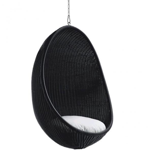 Sika Design Exterior Hanging Egg Outdoor Mattschwarz