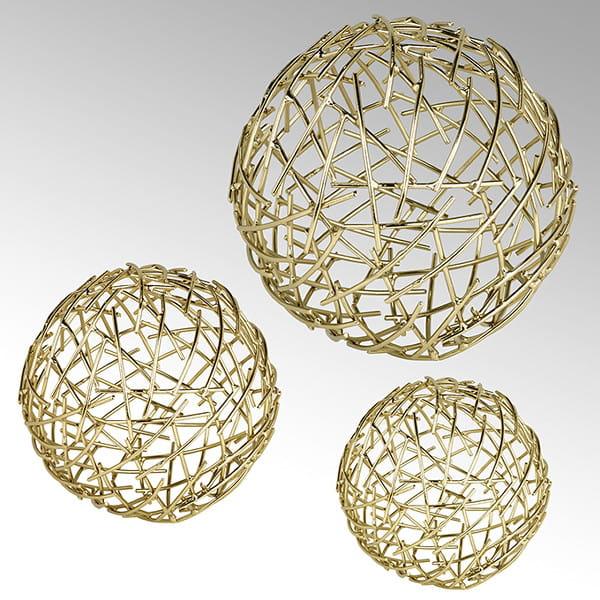 Lambert Dekokugel Micado in Gold - 3 Größen