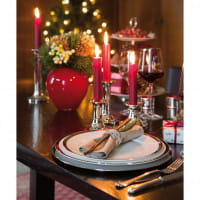 Fink Living Speiseteller Platinum - weihnachtliches Ambiente