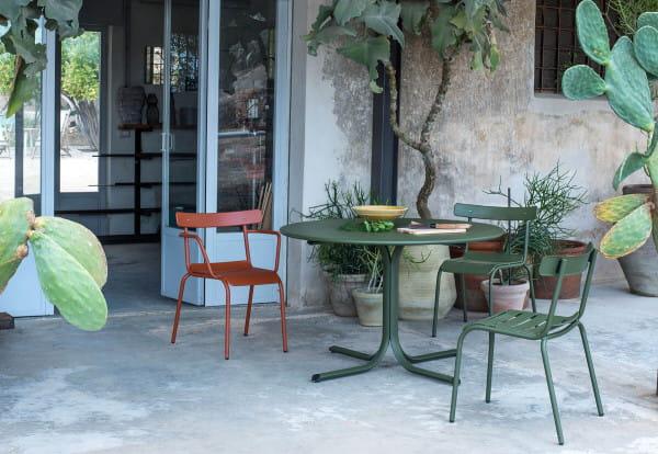 Outdoor Gartenstuhl mit Armlehne Miky