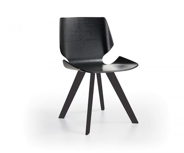 Italienischer Design Stuhl Livorno Wood