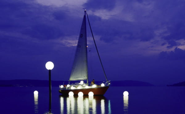 Moonlight MWV Schwimmleuchte Ambiente Boot See Nacht