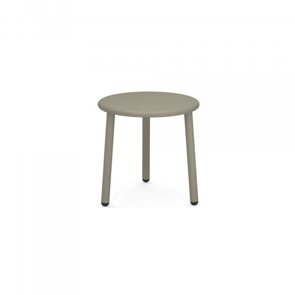 emu Outdoor Beistelltisch Yard (rund, 50 cm) - 37 Grau/Grün
