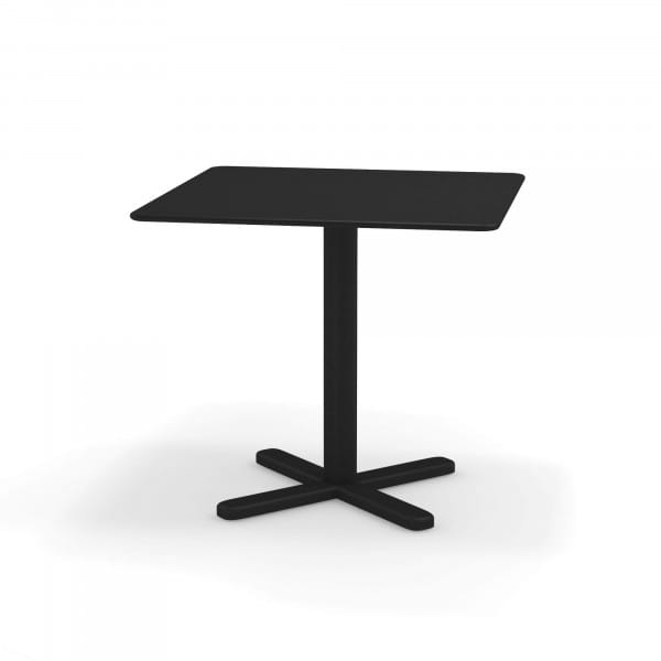 emu Darwin Balkontisch 80x80 - 24 Schwarz - hinten
