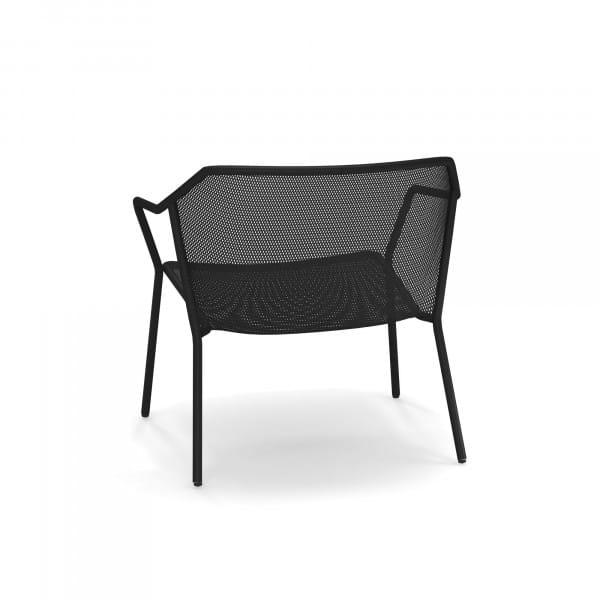 emu Darwin Loungesessel - 24 Schwarz - hinten