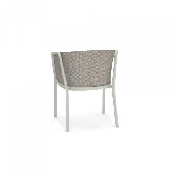 emu Carousel Armlehnstuhl - 23-12 Weiß - Elfenbein Melange - hinten