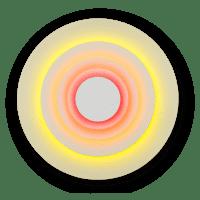 marset Wandleuchte LED Concentric Corona L cut-out