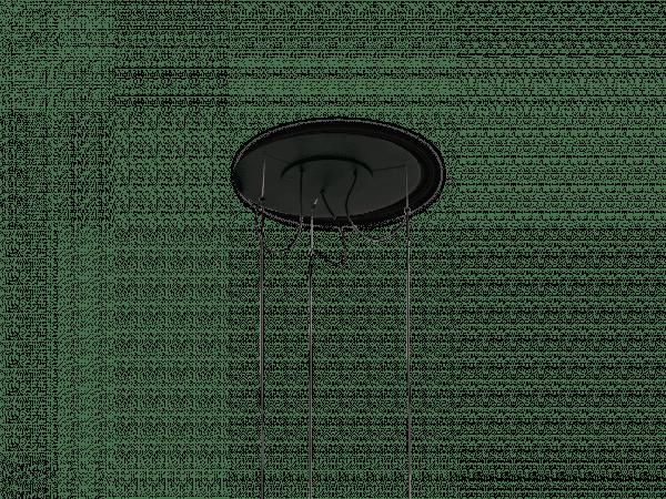Zubehör-Metallplatte für Baldachin Pendelleuchte Ginger 20x3