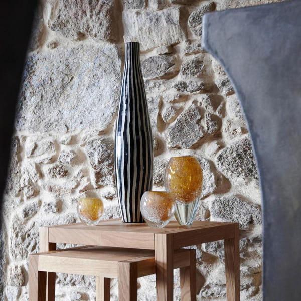 Windlicht Vase Salviato von Lambert Gold, Amber