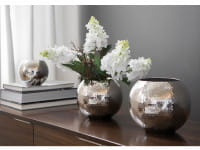 Fink Living Vase Moon - gehämmert, Ambiente